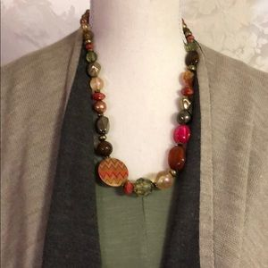 Ruby rd necklace